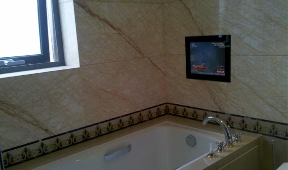 镜面防水电视简约酒店风格