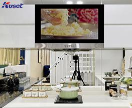 高清27寸厨房镜面电视